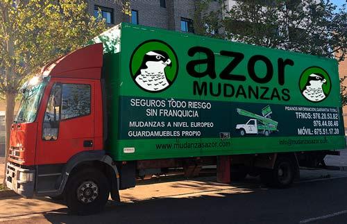 camiones para mudanzas en zaragoza